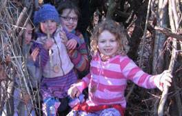 Wildlife skills and forest fun in the South Downs