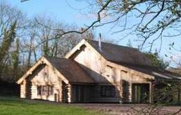 Enjoy a cosy family getaway in a luxury log cabin