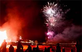 Discover the world's biggest bonfire celebrations in Sussex