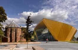Enjoy a stroll around firstsite art gallery