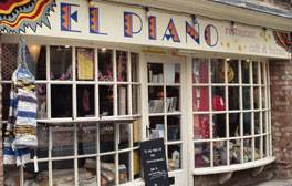 Dine out on vegan specialities at El Piano