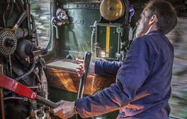 Ride with the driver on the Dartmouth Steam Railway