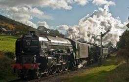 Ride a steam train on the East Lancashire Railway