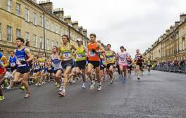 Tie up your trainers and run the annual Bath Half Marathon