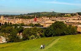 Take a walk through the history of Bath
