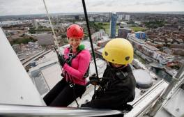 Abseil down the Emirates Spinnaker Tower