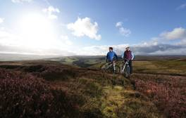 Set off on an electric bike adventure around the Durham Dales