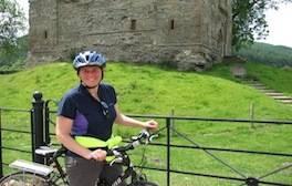 Explore Shropshire's castles by bike