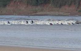Experience the waves of The Severn Bore