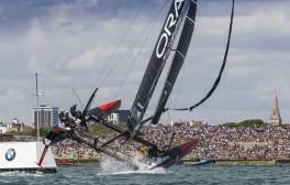 Experience the exhilaration of the America's Cup World Series