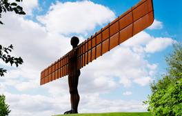 Feel tiny as you marvel at The Angel of the North