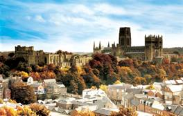 Soak up the atmosphere and changing colours of Durham City