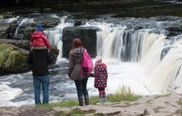 Aysgarth Falls in the Yorkshire Dales
