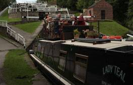 Hop aboard for a luxury canal boat holiday in Lancashire