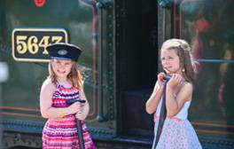 Climb aboard a classic steam railway at Bolton Abbey