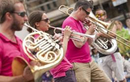 Watch the Battle of the Brass Bands in Durham