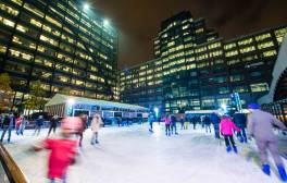 Skate in the City at Broadgate Ice Rink