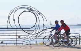 Folgen Sie der fantastischen C2C-Fahrradroute durch England