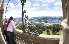 Enjoy the best view of Bristol from Cabot Tower