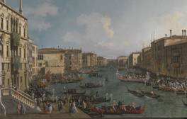 Be inspired by Canaletto's A Regatta on the Grand Canal