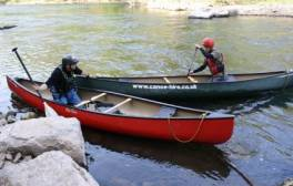 Explore the River Wye by canoe