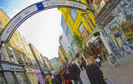 Head to London's Carnaby Street