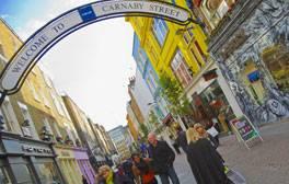 Head to London's Carnaby Street