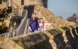 Explore the Medieval walls of Lincoln Castle