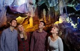 Climb rocks and explore caves of the Mendip Hills
