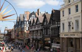 Romans, racing and the famous Rows in Chester