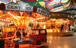 Experience all the fun of a vintage fair