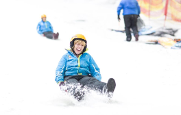 Experience the UK's largest indoor ski slope at Chill Factore