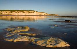Soak up the sights along Kent's award-winning sandy beaches