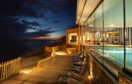 Enjoy a contemporary beach stay at the Watergate Bay Hotel