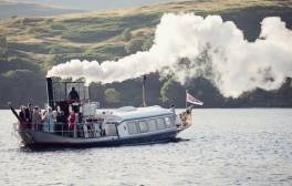 Take a steamboat cruise on Coniston Water