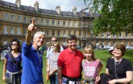 Take a free walking tour of Bath with a local