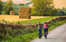 Grab your bike for a cycling tour of the Cotswolds