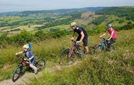 Enjoy a cycle ride with sensational views at Sutton Bank