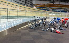 Cycle the track at Derby Arena