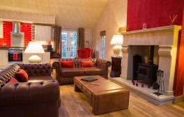Enjoy a cosy winter break in a luxurious Forest Lodge