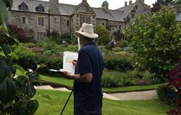 Follow Turner on the Drawn to the Valley Art Trail