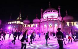 Ice Skating at the Royal Pavilion