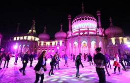 Ice Skating at the Royal Pavilion