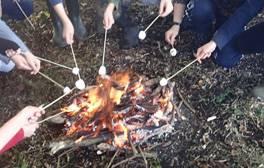 Bushcraft and campfires at Humblescough Farm