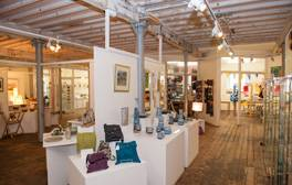 Explore four floors of arts and crafts at Farfield Mill