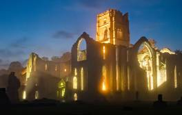 Relive the past at Fountains Abbey & Studley Royal