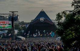 Lose yourself at the legendary Glastonbury Festival
