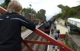 On location with the world's most popular heritage railway