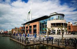 Snap up a bargain at Gunwharf Quays