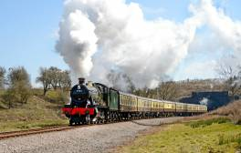 Take a trip through the Cotswolds on a steam railway